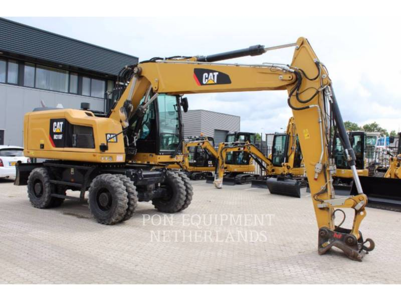 CATERPILLAR PELLES SUR PNEUS M 318 F equipment  photo 1