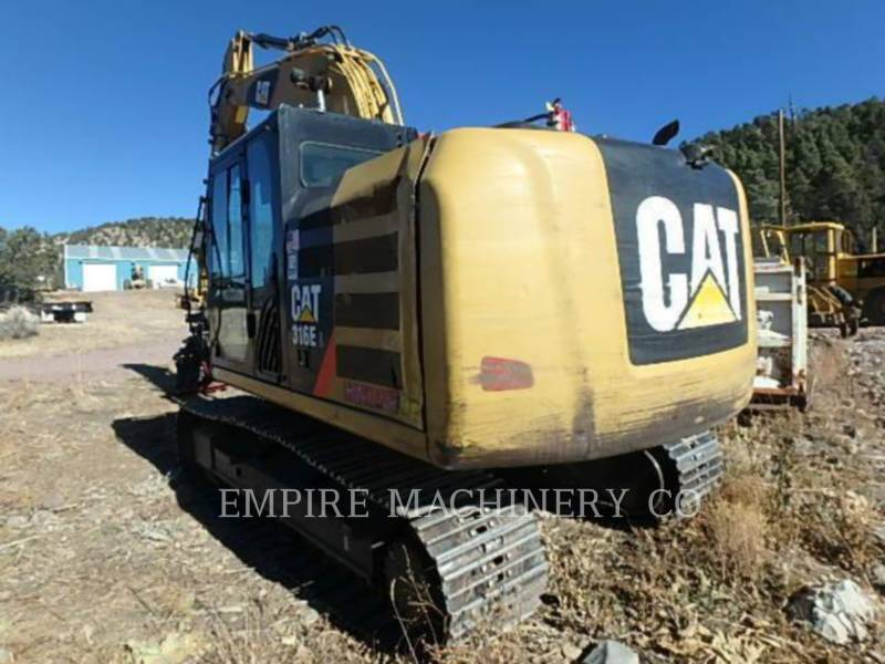 CATERPILLAR PELLES SUR CHAINES 316EL    P equipment  photo 9