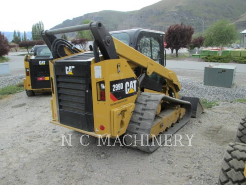 CATERPILLAR SKID STEER LOADERS 299D1 H3CB equipment  photo 2