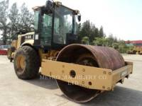 CATERPILLAR VIBRATORY SINGLE DRUM SMOOTH CS-563DAW equipment  photo 4