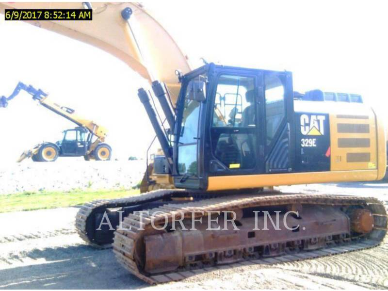 CATERPILLAR KETTEN-HYDRAULIKBAGGER 329EL TH equipment  photo 2