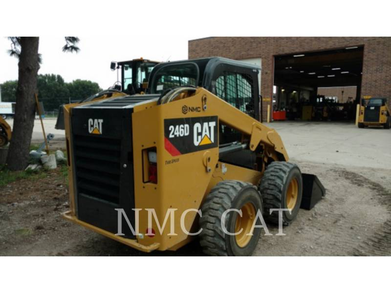 CATERPILLAR MINICARREGADEIRAS 246D equipment  photo 4