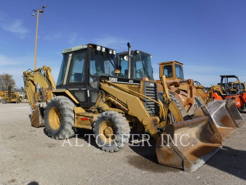 CATERPILLAR CHARGEUSES-PELLETEUSES 416B equipment  photo 1