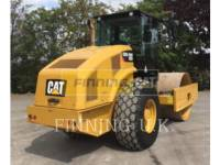 Equipment photo CATERPILLAR CS66B 振动单碾轮平滑设备 1