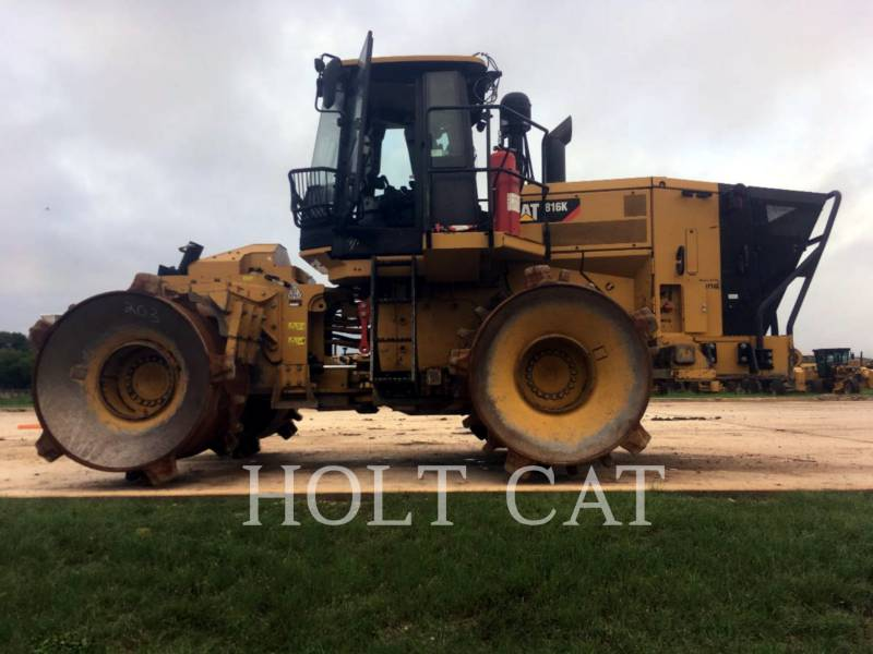 CATERPILLAR VERDICHTER 816K equipment  photo 2