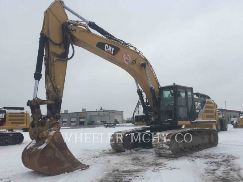 CATERPILLAR TRACK EXCAVATORS 336E L CFM equipment  photo 3