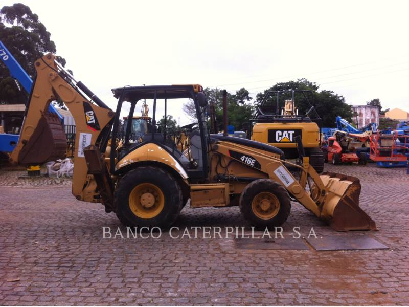 CATERPILLAR BAGGERLADER 416EST equipment  photo 2