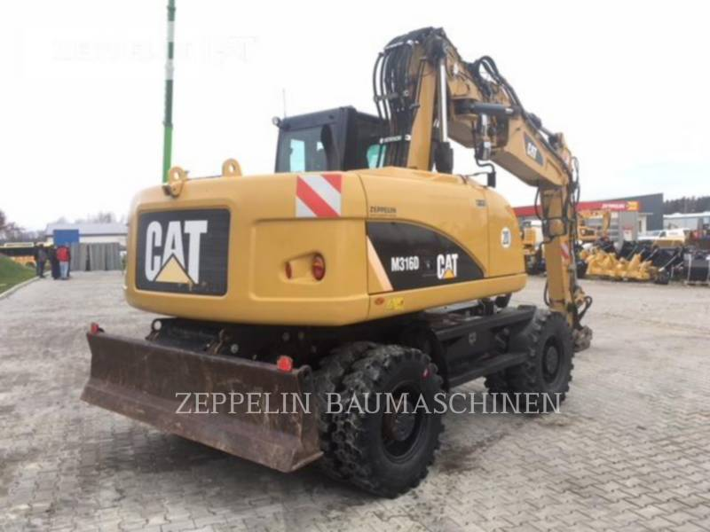 CATERPILLAR PELLES SUR PNEUS M316D equipment  photo 5