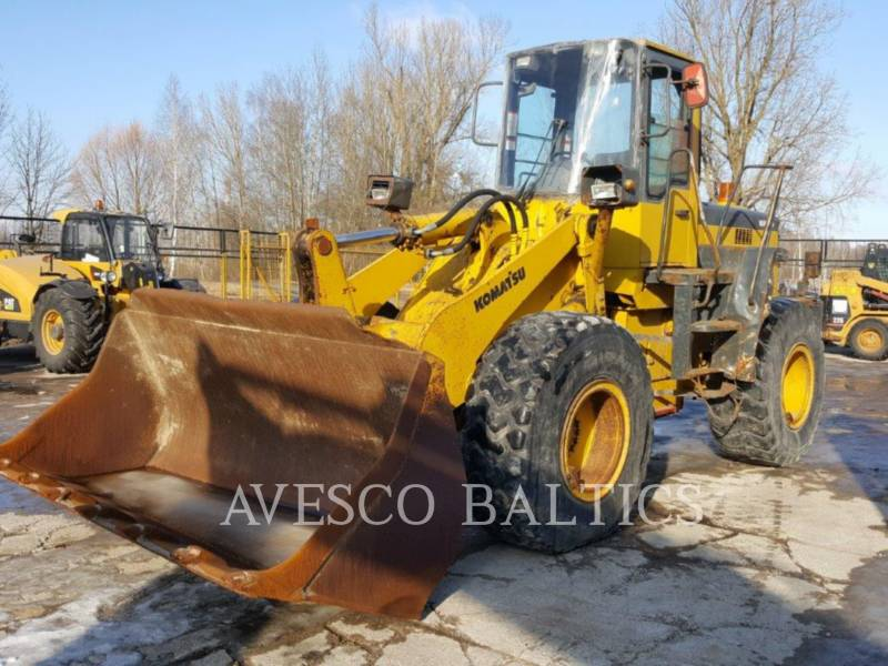 KOMATSU CARGADORES DE RUEDAS WA320-3H equipment  photo 3