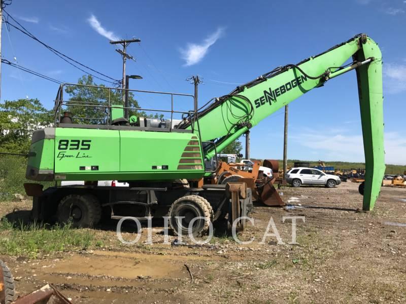 SENNEBOGEN WHEEL EXCAVATORS 835 equipment  photo 1