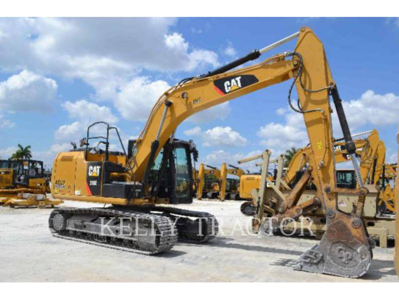 CATERPILLAR トラック油圧ショベル 318EL equipment  photo 2