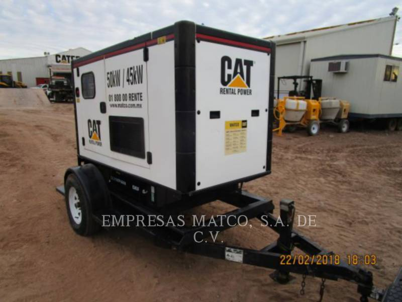 OLYMPIAN CAT MOBILE GENERATOR SETS GEP55-3 equipment  photo 9