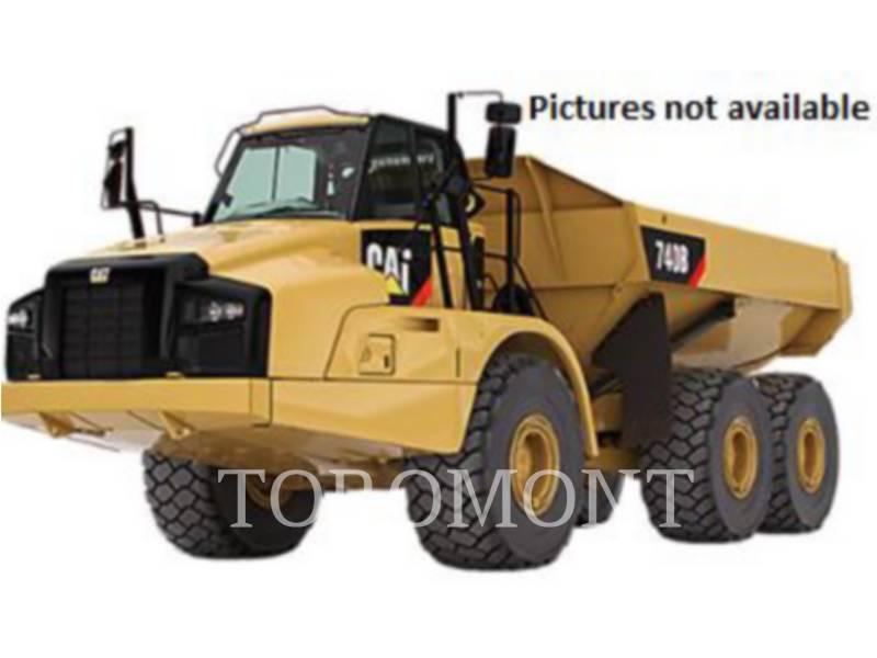 CATERPILLAR ARTICULATED TRUCKS 740B equipment  photo 1