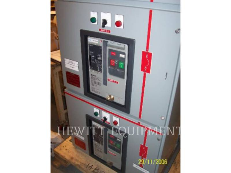 CUTTLER HAMMER COMPONENTES DE SISTEMAS SWITCHGEAR 5000A equipment  photo 6