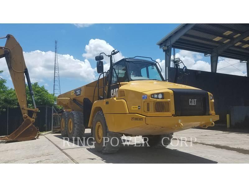CATERPILLAR KNICKGELENKTE MULDENKIPPER 725C2 equipment  photo 2