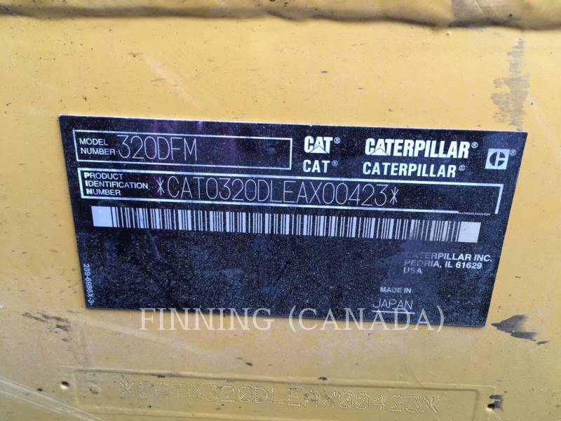 CATERPILLAR Forstwirtschaft –  Prozessor 320DFMHW equipment  photo 13