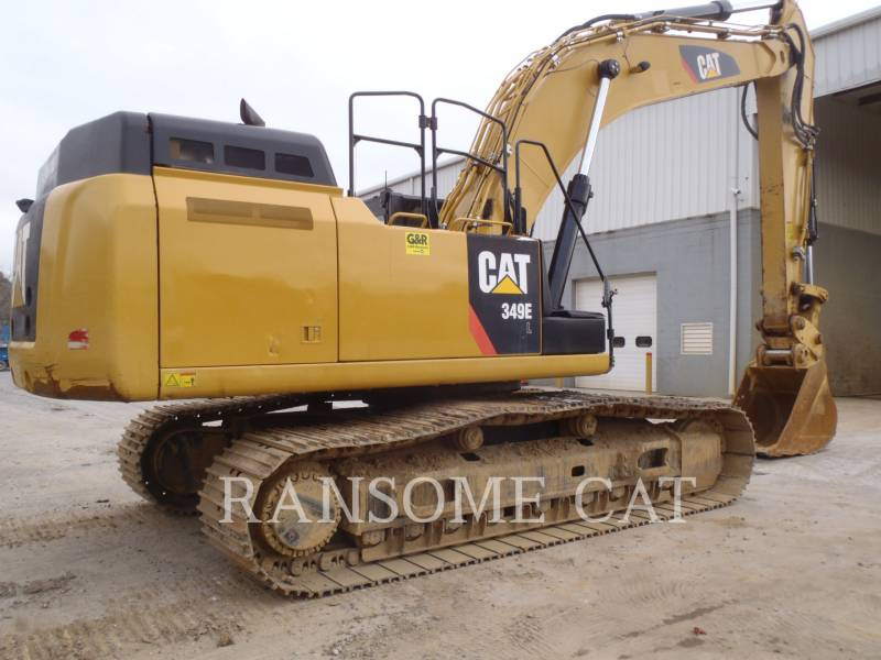 CATERPILLAR PELLES SUR CHAINES 349EL equipment  photo 5
