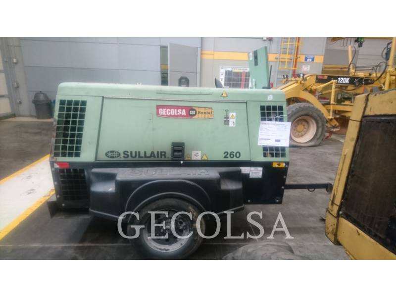 SULLAIR COMPRESSEUR A AIR 260DPQ equipment  photo 2