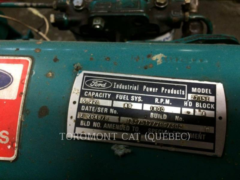FORD 固定式発電装置 380 DFO-6005E-SOC 30 equipment  photo 5