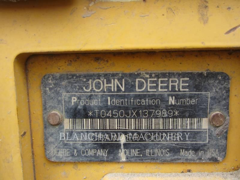 JOHN DEERE TRACK TYPE TRACTORS 450J LGP equipment  photo 11