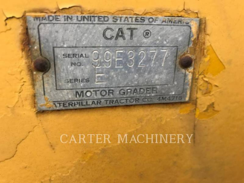 CATERPILLAR MOTORGRADER 12E equipment  photo 11