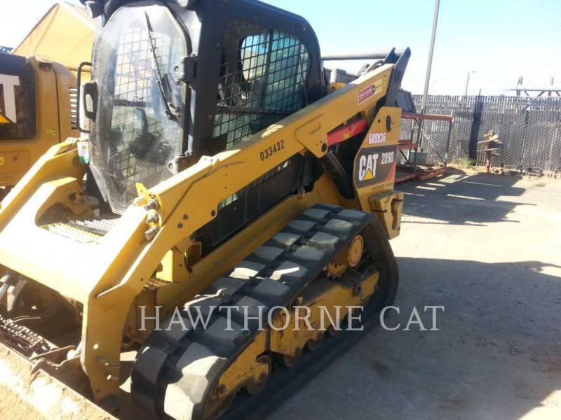 CATERPILLAR SKID STEER LOADERS 289D CABHF equipment  photo 2