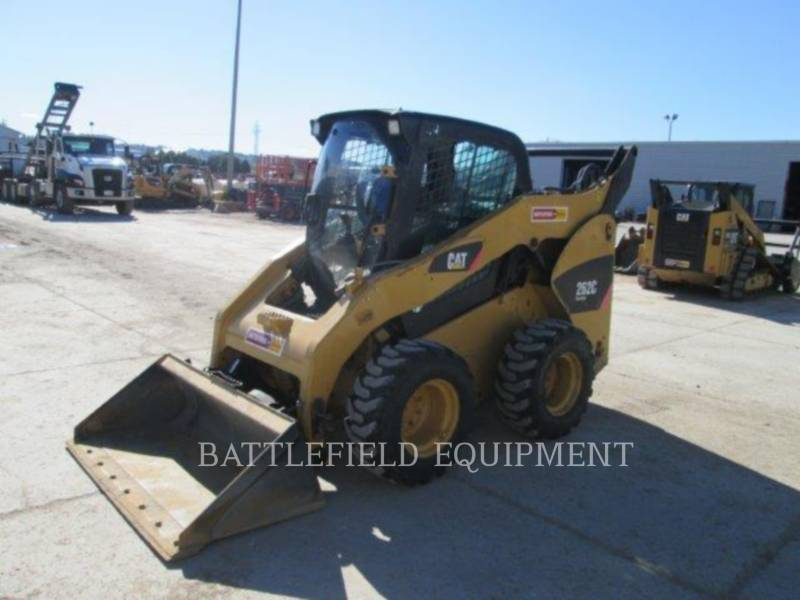 CATERPILLAR SKID STEER LOADERS 262C equipment  photo 8