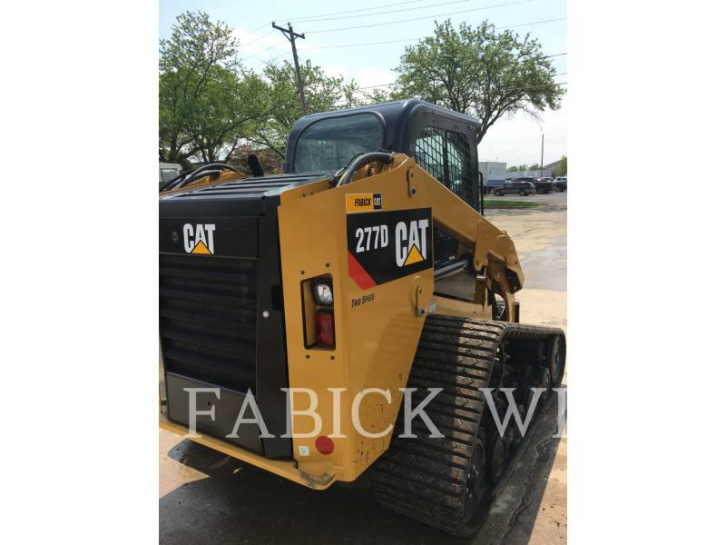CATERPILLAR CARGADORES MULTITERRENO 277D equipment  photo 4