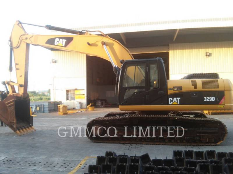 CATERPILLAR TRACK EXCAVATORS 329DL equipment  photo 8