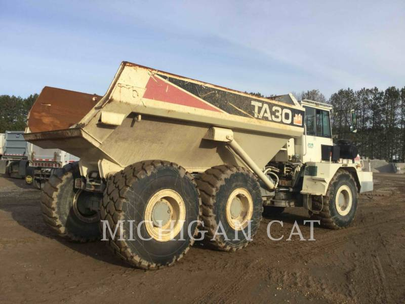 TEREX CORPORATION ARTICULATED TRUCKS TA30 equipment  photo 4