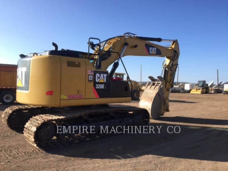 CATERPILLAR KETTEN-HYDRAULIKBAGGER 320ELRRTHP equipment  photo 2