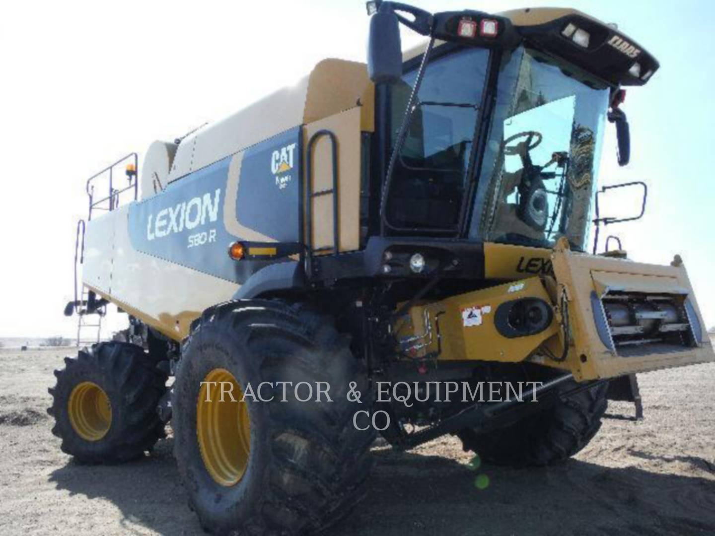 Detail photo of 2010 Lexion LX580R from Construction Equipment Guide