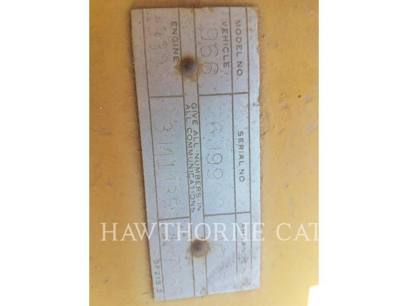 Caterpillar ÎNCĂRCĂTOARE PE ROŢI/PORTSCULE INTEGRATE 966C equipment  photo 7