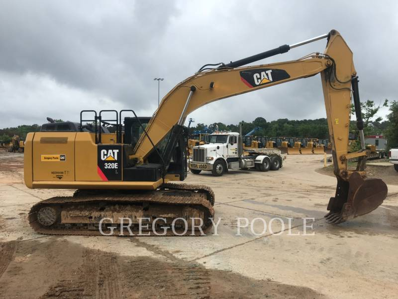 CATERPILLAR KETTEN-HYDRAULIKBAGGER 320E L equipment  photo 2