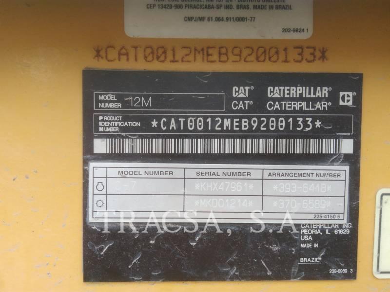 Caterpillar AUTOGREDERE 12M equipment  photo 8
