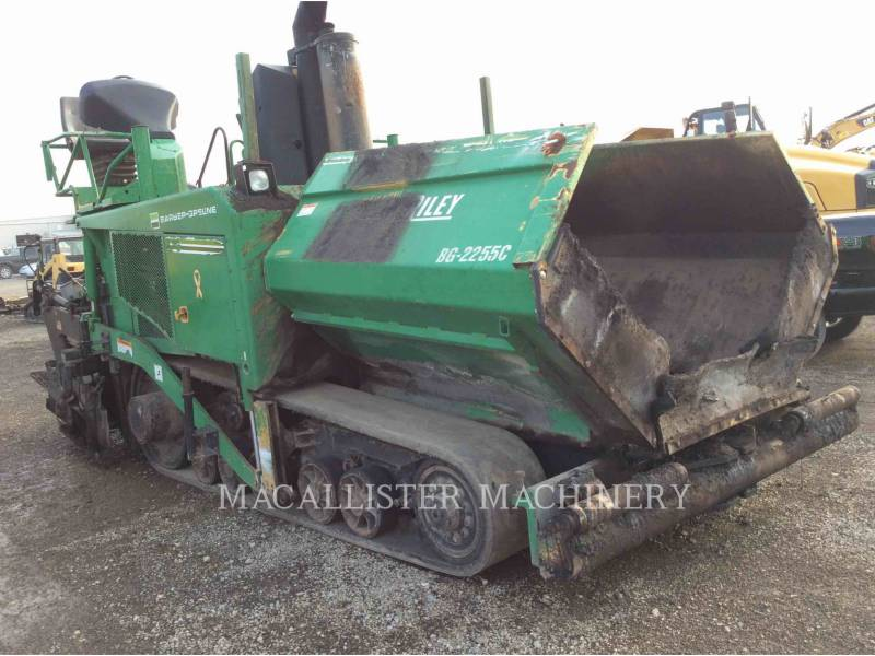 BARBER GREENE ASPHALT PAVERS AP655-C equipment  photo 2