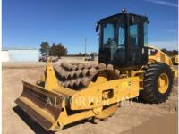 Equipment photo CATERPILLAR CP56 VIBRATORY SINGLE DRUM SMOOTH 1