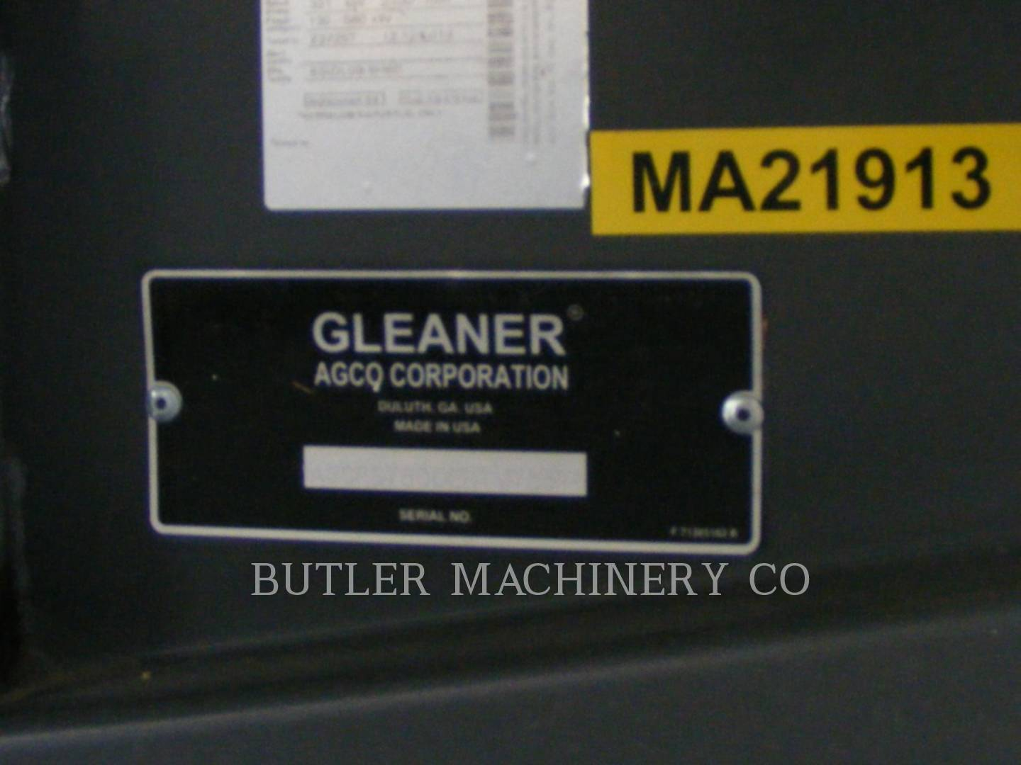 Detail photo of 2014 Gleaner S78 from Construction Equipment Guide
