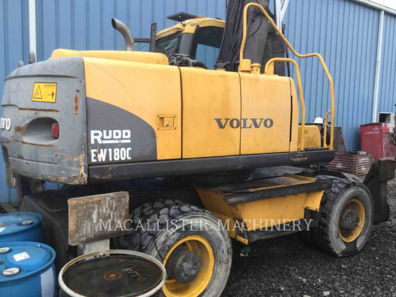 VOLVO CONSTRUCTION EQUIPMENT ホイール油圧ショベル EW180 equipment  photo 1