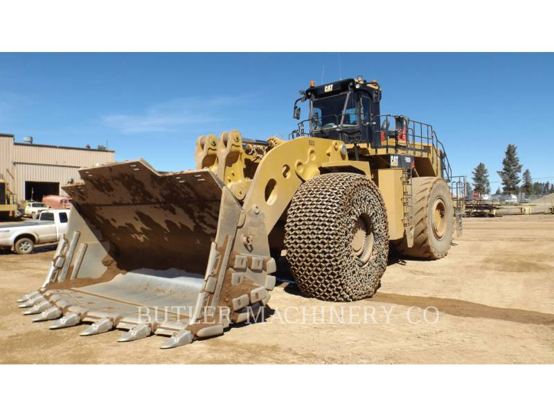 Caterpillar ÎNCĂRCĂTOR MINIER PE ROŢI 993 K equipment  photo 1