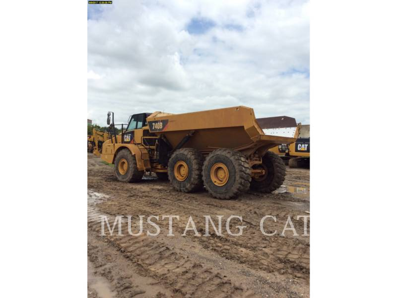 CATERPILLAR DUMPER ARTICOLATI 740B equipment  photo 9