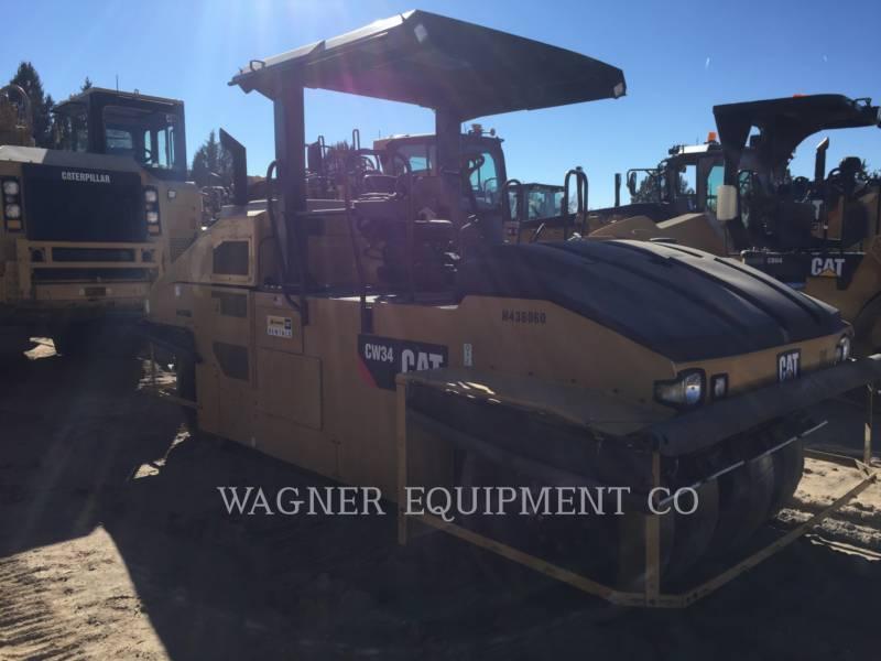 CATERPILLAR GUMMIRADWALZEN CW34 equipment  photo 4
