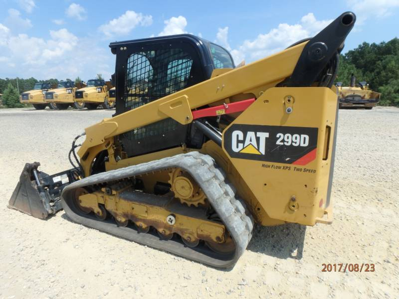 Caterpillar ÎNCĂRCĂTOARE PENTRU TEREN ACCIDENTAT 299D equipment  photo 4