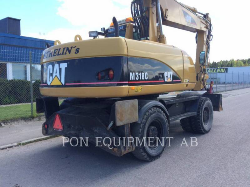CATERPILLAR ESCAVADEIRAS DE RODAS M318C equipment  photo 2