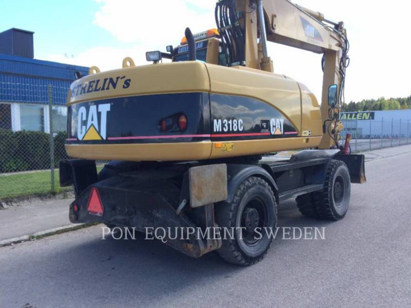 CATERPILLAR MOBILBAGGER M318C equipment  photo 2