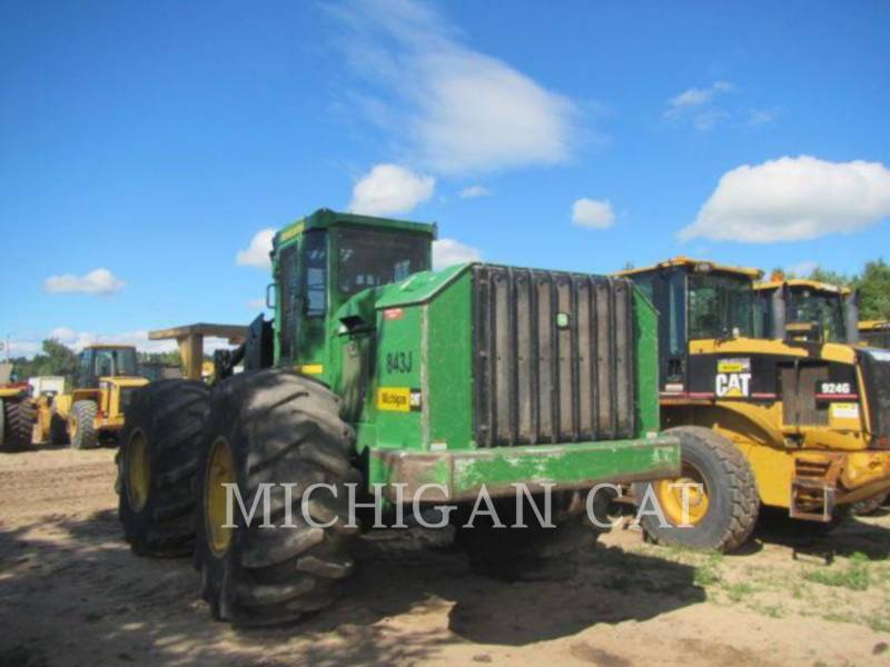 JOHN DEERE FORESTRY - FELLER BUNCHERS - WHEEL 843J WFELLER equipment  photo 5