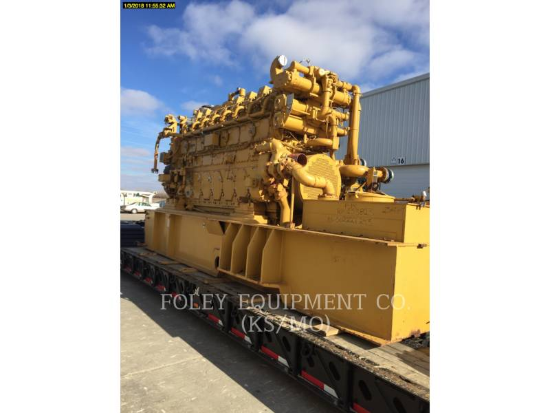 CATERPILLAR FISSO - GAS NATURALE G3608IN equipment  photo 1