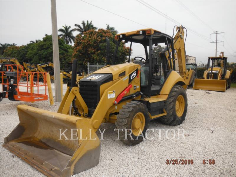 CATERPILLAR RETROEXCAVADORAS CARGADORAS 416FST equipment  photo 1