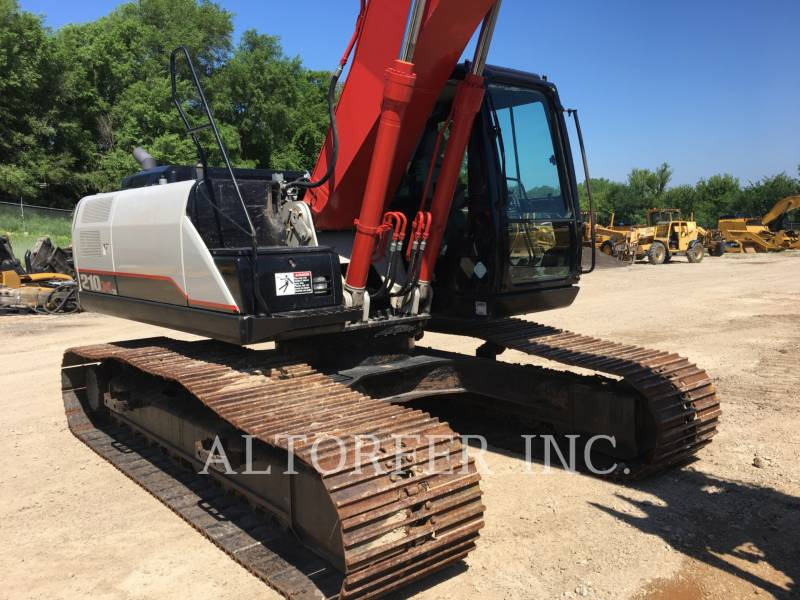 LINK-BELT CONSTRUCTION TRACK EXCAVATORS 210X3 equipment  photo 4