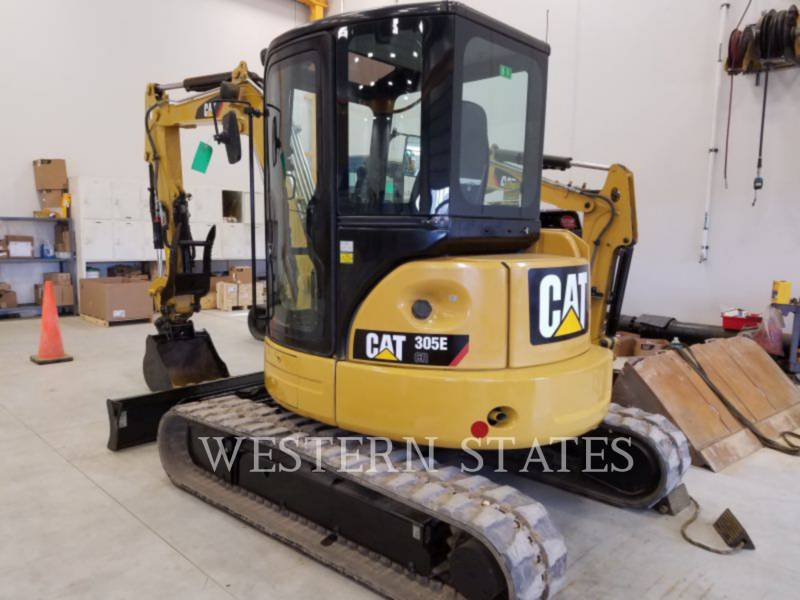 CATERPILLAR TRACK EXCAVATORS 305 E CR equipment  photo 3